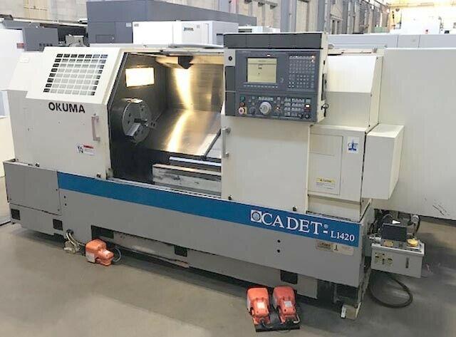 Okuma Cadet-L1420/1250 Big Bore CNC Turning Center