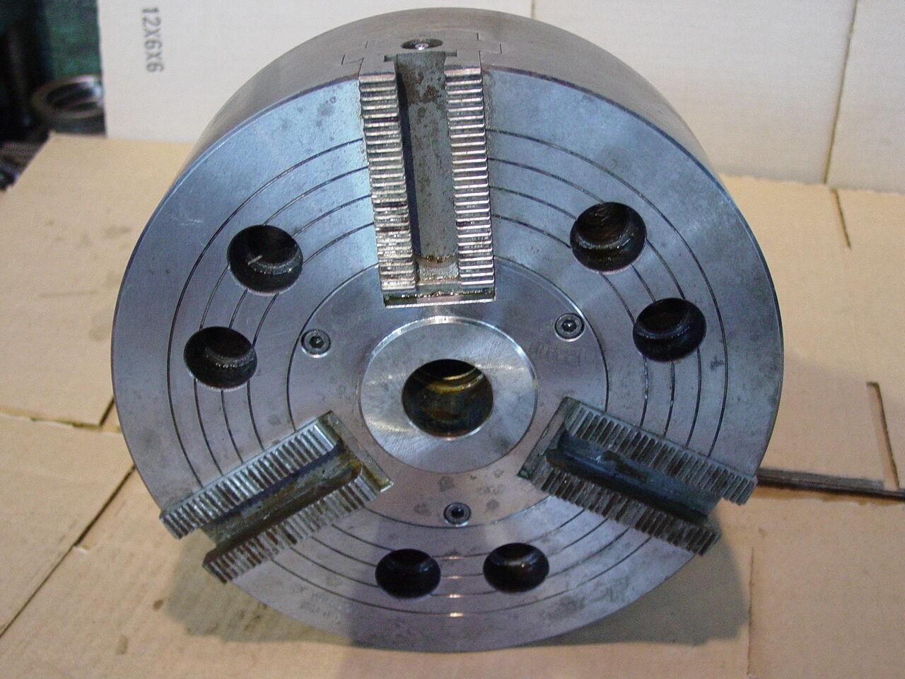 "10"" Howa  3-Jaw Power Chuck, Model H01MA10 A8, A8 Mount."