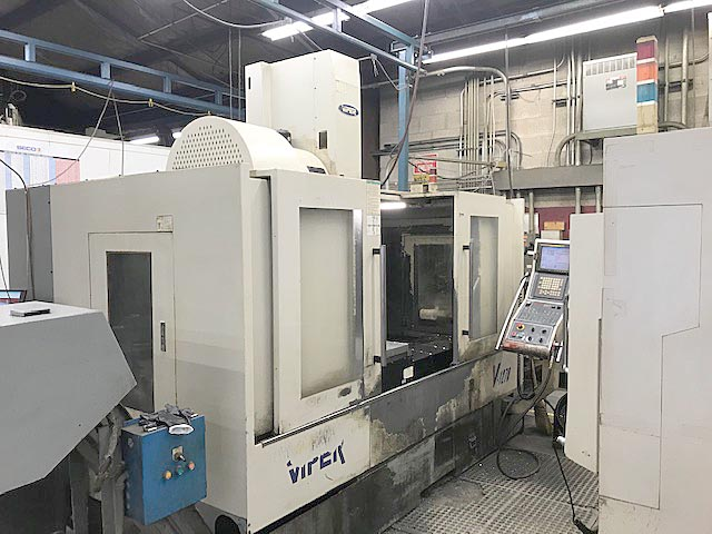 """MIGHTY VIPER VMC1270, Fanuc 18i CNC Control, 53"""" x 23"""" Table, X=50"""", Y=25"""", Z=25"""", 8000 RPM, 24 Station Tool Changer, New 2004."""