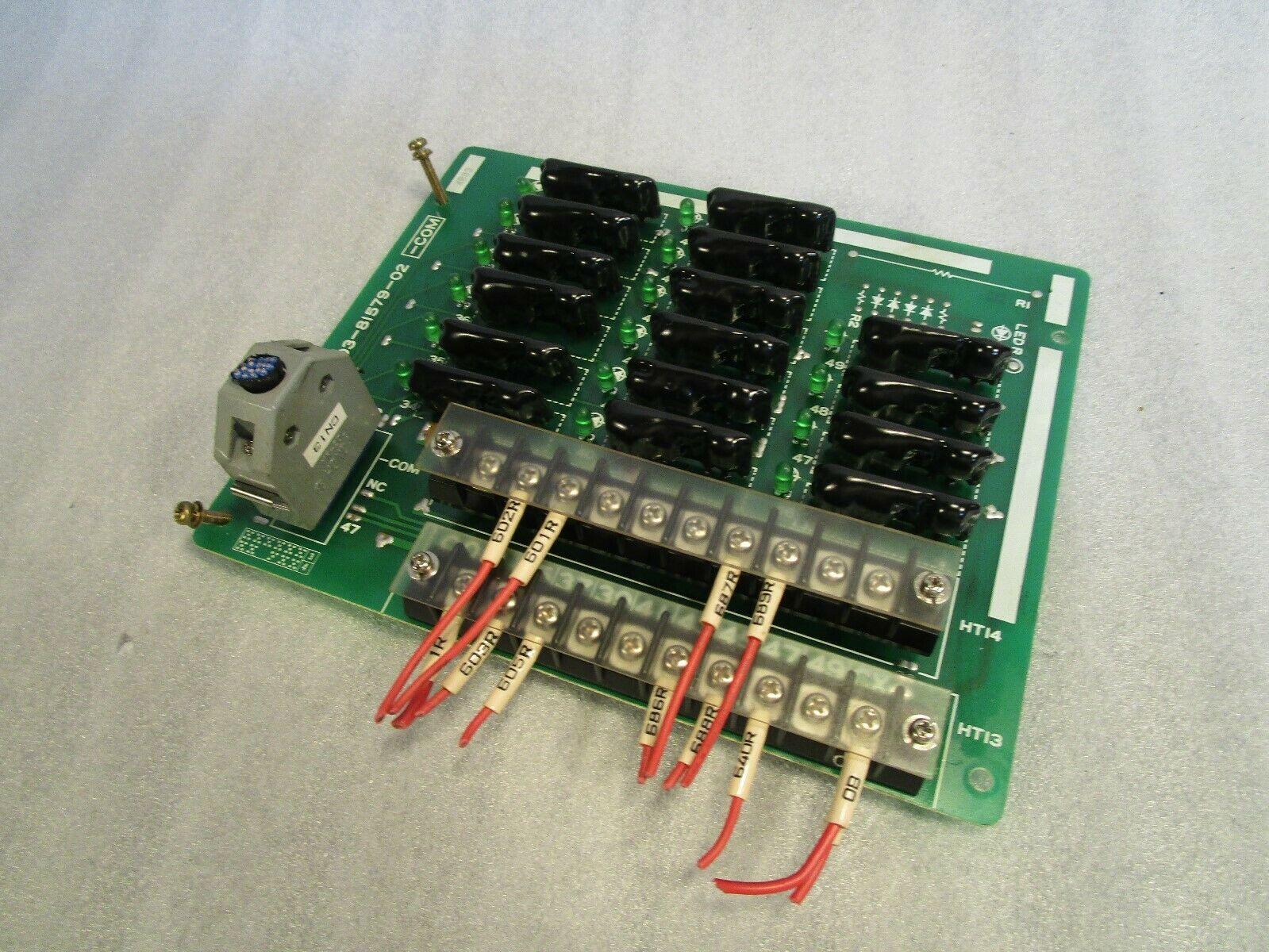Mazak Mitsubishi 03-81579-01 4B03 Com Board Mazak T-32 CNC Control Board