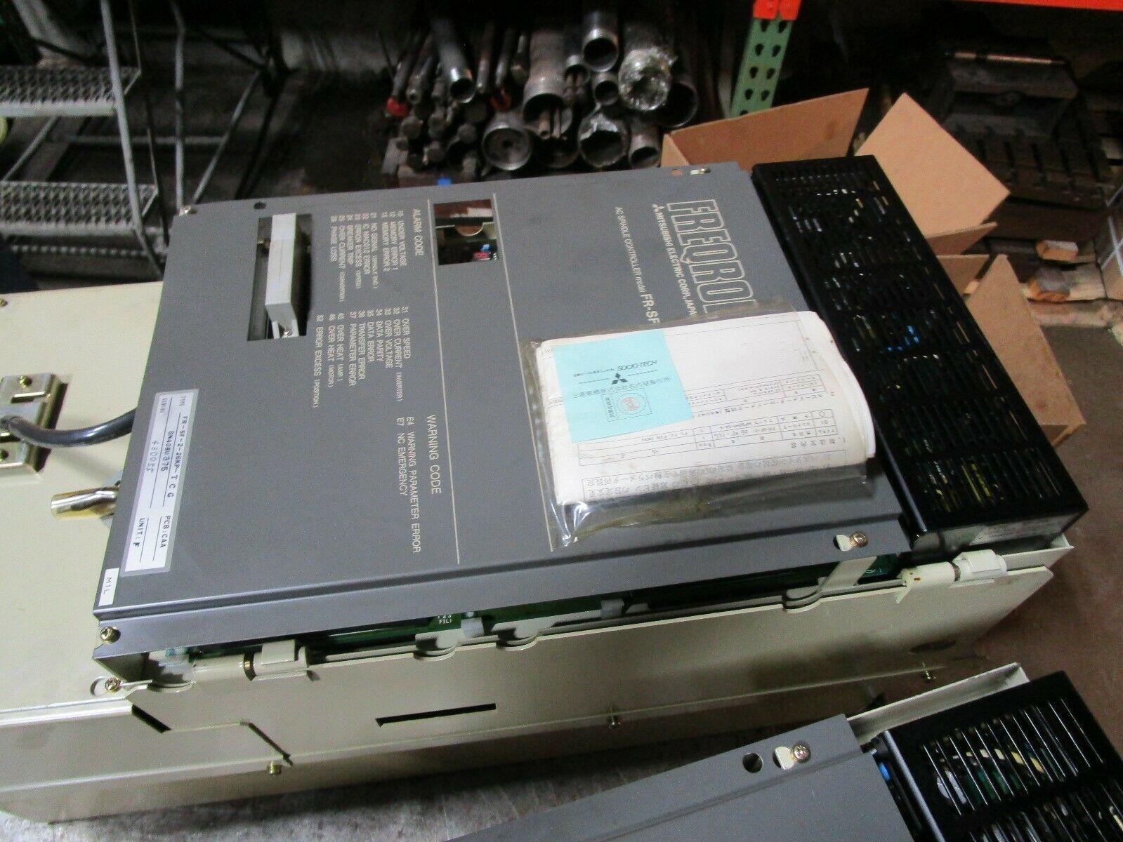 Mazak Mitsubishi Freqrol Spindle Drive FR-SF-2-26KP-TCG BN 408u375