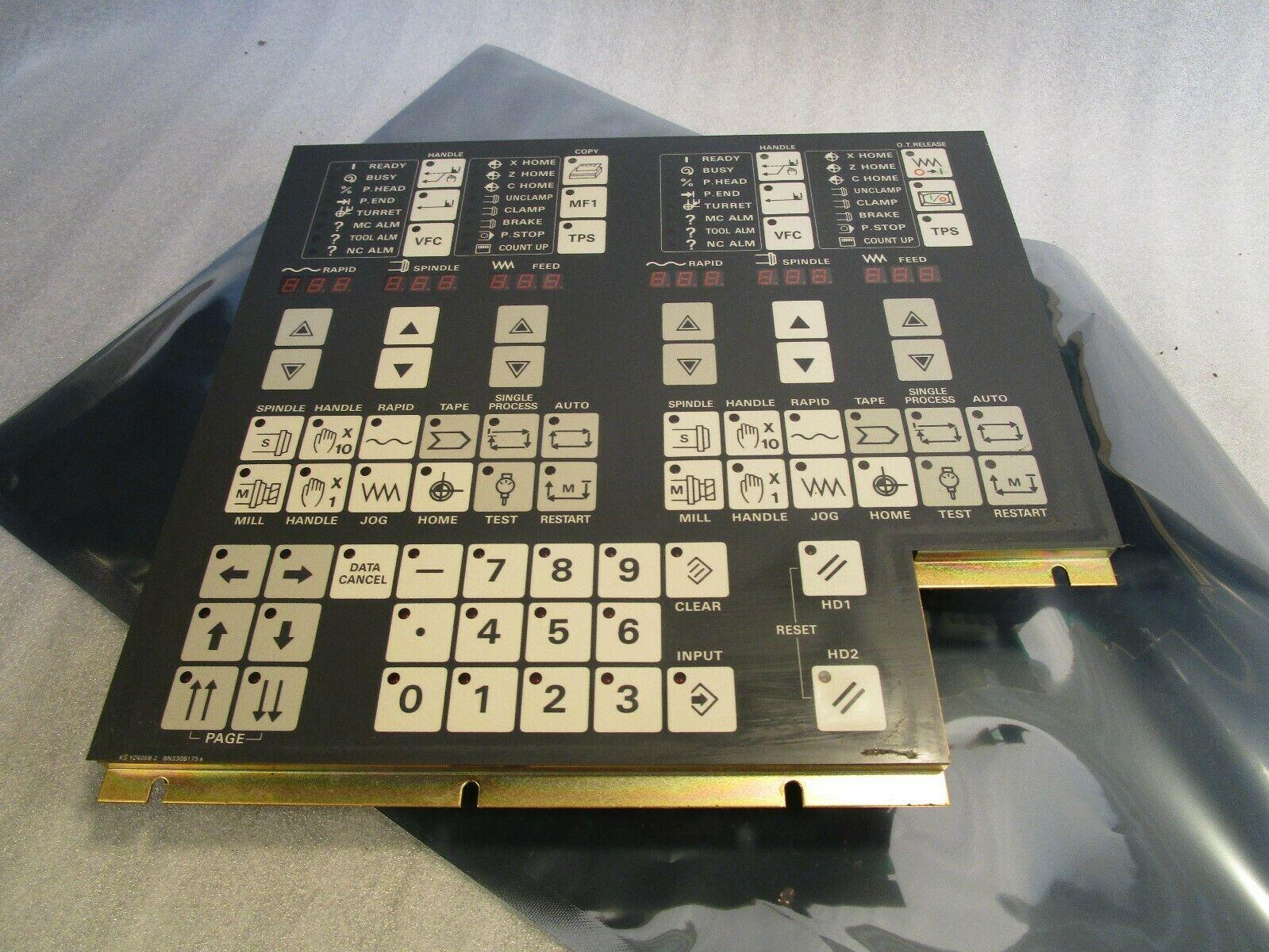 Mazak Mitsubishi Operator Panel BN330B175 Multiplex Mazak T-32 CNC Control Board