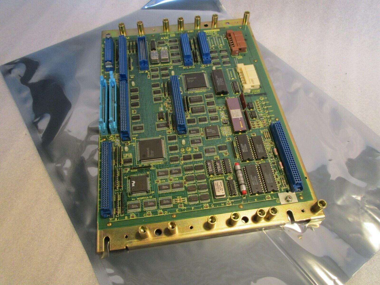 Fanuc CNC Control Board A20B-2000-0170 /03B Fanuc 0T 0M CNC Control Board