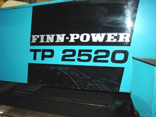 FINN POWER TP 2520, SIEMENS SINUMERIK 3N
