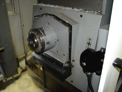 "ENSHU JE40, Fanuc 18M CNC Control, X=15.7"", Y=19.7"", Z=15.7"", (2) 15.7"" Square Pallets, 1 Degree Indexing Pallet Rotation, 10000 RPM, 30 Station Tool Changer, Cut Plastic, New 2001."