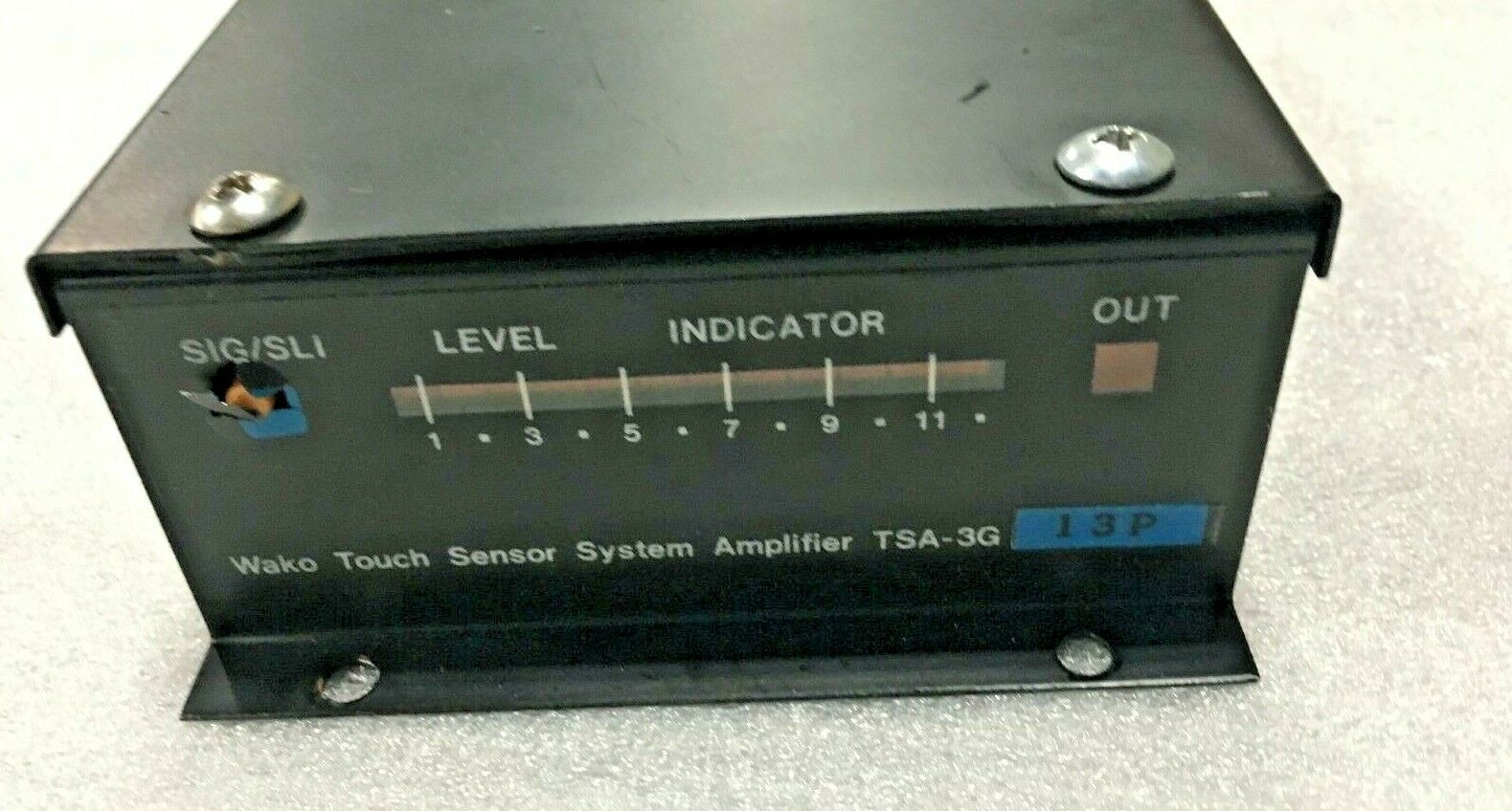 Wako Touch Sensor System, model: TSA-3G, 13P. Was working when removed from a Hitachi Seiki HC-400