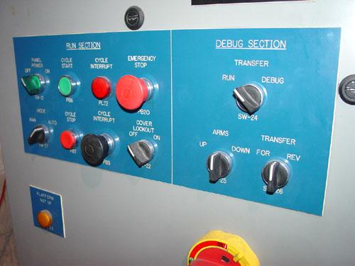 RAMCO MULTI STATION AUTOMATED DYE PENETRANT SYSTEM, Ultrasonic Washing, Rinsing, Dryers, Developer, 2003.