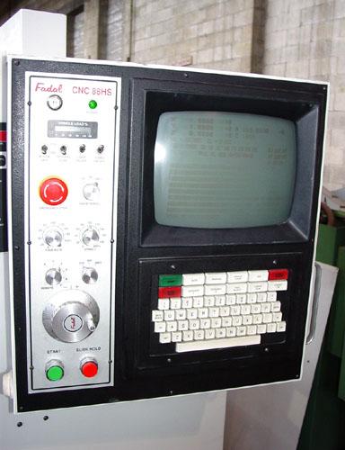 """FADAL 2216, Fadal 88HS CNC Control, X=20"""", Y=16"""",Z=20"""", 10,000 RPM, 21 ATC, Ran Plastic, New 1996."""