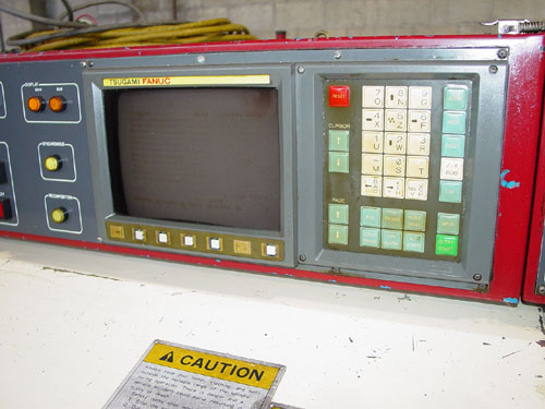 """TSUGAMI NP-32 CNC SWISS, Fanuc 0T CNC, 1.25"""" Bar Capacity, Iemca Barfeeder, Live Tooling, Sub Spindle, Large Tooling Package, New 1995."""