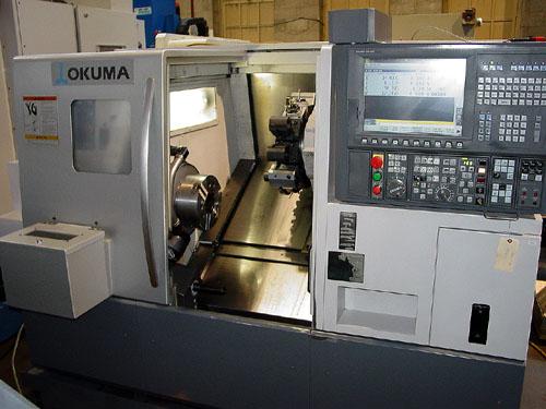 OKUMA LB-3000EXBBM, OSP P-200 CNC