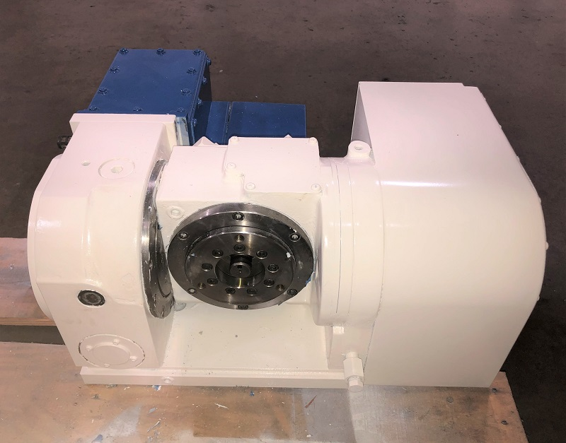 "4.33"" KITAGAWA TT120 4TH AND 5TH AXIS CNC ROTARY TABLE, Model TT120, Fanuc Compatible, 2007."