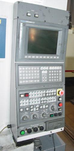 "OKUMA MA-550VB, OSP E100M CNC, X=51"", Y=22"", Z=22"", CAT 50, Thru the Spindle Coolant, 32 ATC, 2004."