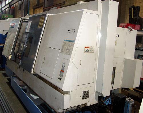 "MAZAK INTEGREX 400SY, Mazatrol Fusion 640 CNC, 15"" Main Chuck, 12"" Sub Spindle, B-Axis, Y- Axis, Live Tooling, 40 ATC, 2000."