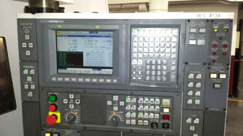 OKUMA MACTURN 350W-1S/1500, OSP E100L