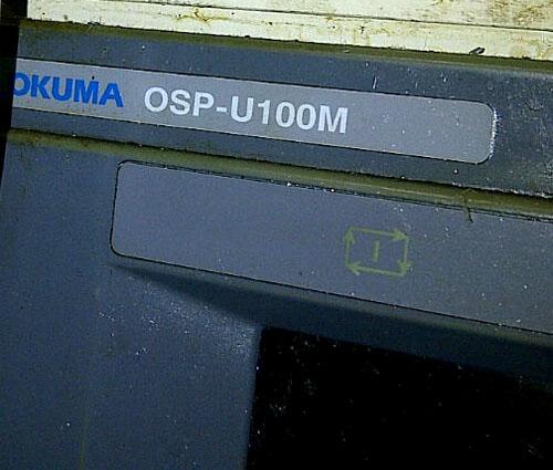 OKUMA MA-50HB, OSP U100M