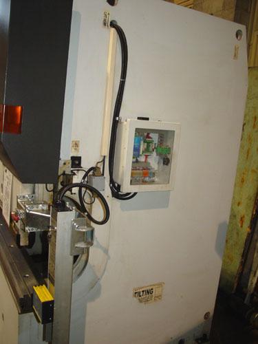 "90 TON X 96"" STRIPPIT/LVD CNC HYDRAULIC PRESS BRAKE, Model PBEB 90/08, LVD CADMAN CNC, 4-Axis Backgauge, 2003."