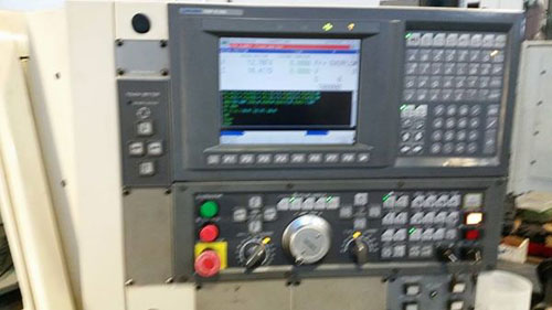 OKUMA CAPTAIN L-370 W/ LNS BARFEED, OSP E100
