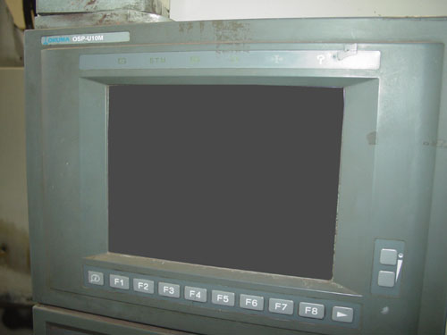 """OKUMA MC-V4020, OSP U10M CNC, 48"""" X 20"""" Table, X=40"""", Y=20"""", Z=17"""", 15,000 RPM, 20 ATC, CAT 40, New 2002."""