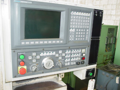 """OKUMA ES-L6, OSP U10 CNC, 17"""" Swing over Bed, 11.8"""" Max Turning Diameter, 11"""" Max Turning Length, Programmable Tailstock, New 2008."""