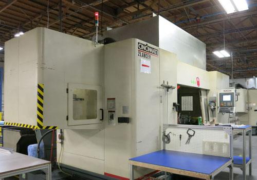 CINCINNATI LANCER V5-2000 5-AXIS, ACRAMATIC 2100 CNC