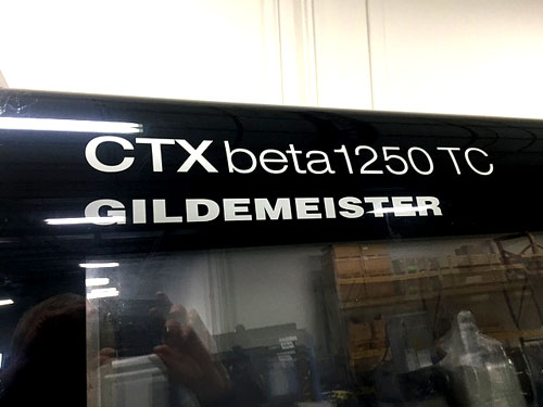 MORI SEIKI DMG CTX BETA 1250TC, SIEMENS 840D CNC