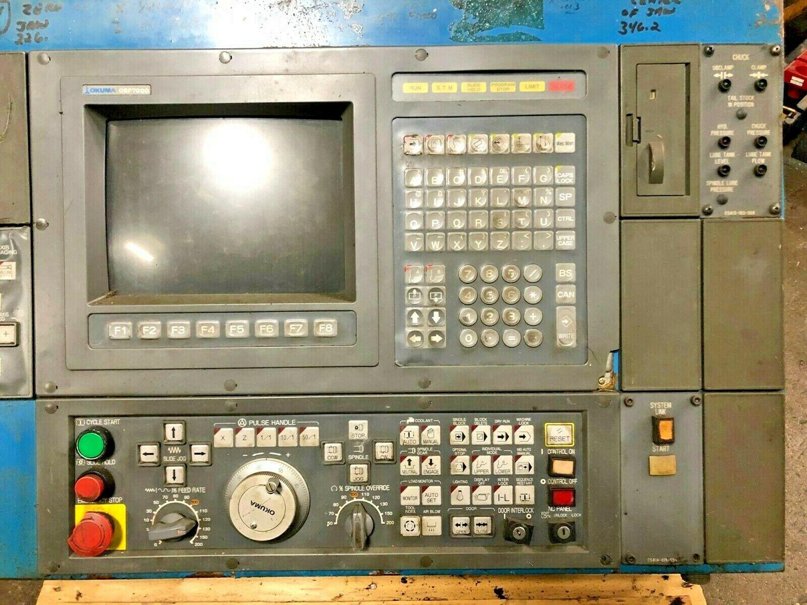 OKUMA OSP 7000L Operator Station