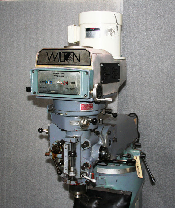 """9"""" x 49"""" Table, 3 HP Variable Speed Head, 4200 rpm, Quill, Power Drawbar, One Shot Lube System, New 1995."""