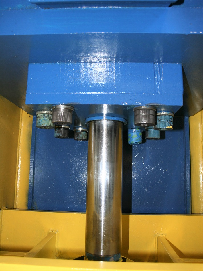 "75 TON K.R. WILSON HYDRAULIC PRESS, Model DCF-SA, 75 Tons, 16"" Stroke, 24""x36"" Upper Platen, 26""x 36"" Lower Platen, 30 H.P Motor, New 1979."