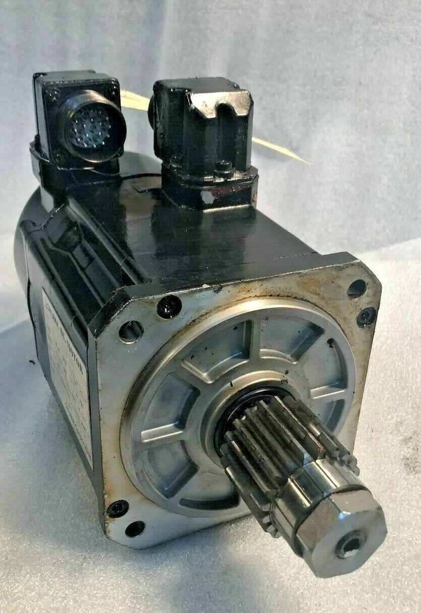 Okuma BL Servo Motor, Type: BL-MC150E-30T, S/N: 98240257, came off a working Okuma L1060 cnc turning center.