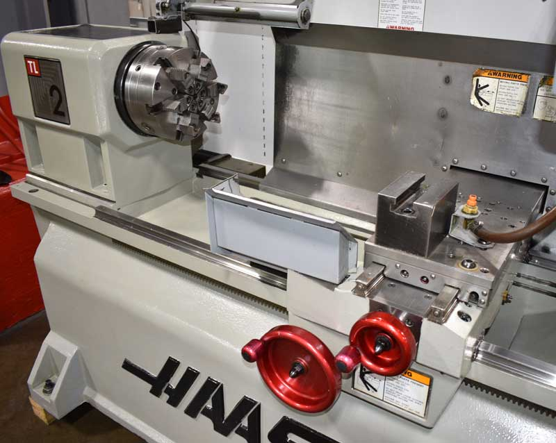 """HAAS TL-2, Haas CNC Control, 10"""" Chuck, 16"""" Cutting Diameter, 48"""" Max Cutting Length, 2000 Max Spindle RPM, Coolant System, New 2006."""