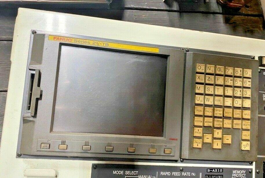 Fanuc 21i-TB CNC Control Unit / Operators Station, Tested Good