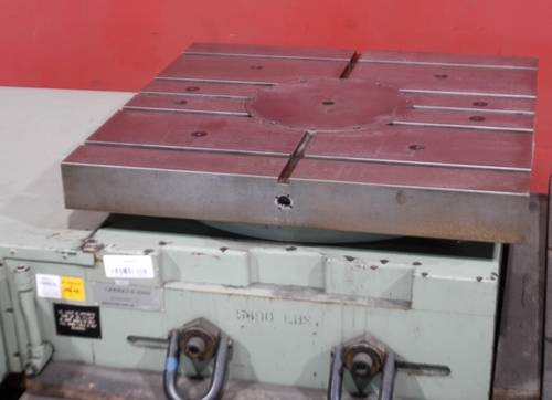 "Giddings & Lewis 36"" 360-C CNC contouring table"
