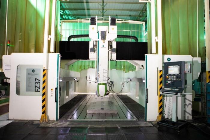 Zimmermann 5 Axis High Speed Portal Milling Machine
