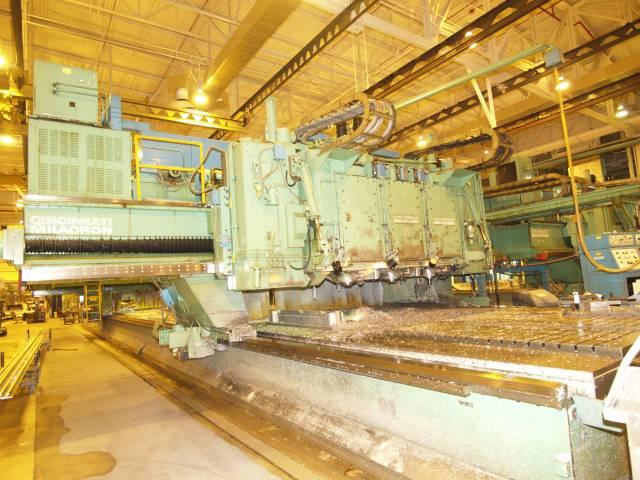 Cincinnati 3 Spindle 5 Axis CNC Gantry Profiler