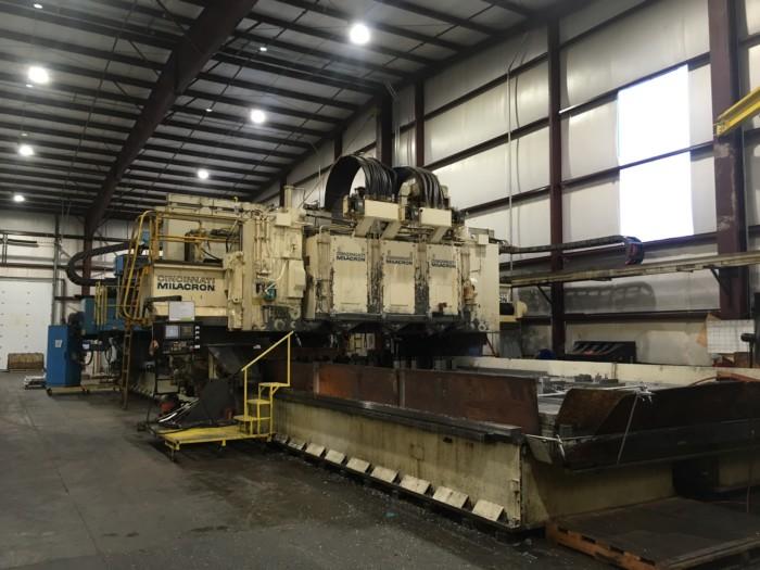 Cincinnati 3 Spindle 5 Axis Gantry Profiler w/Fanuc 31iA5 CNC Control