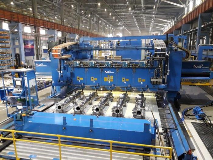 Cincinnati 5 Spindle 5 Axis Rail Type Gantry Profiler