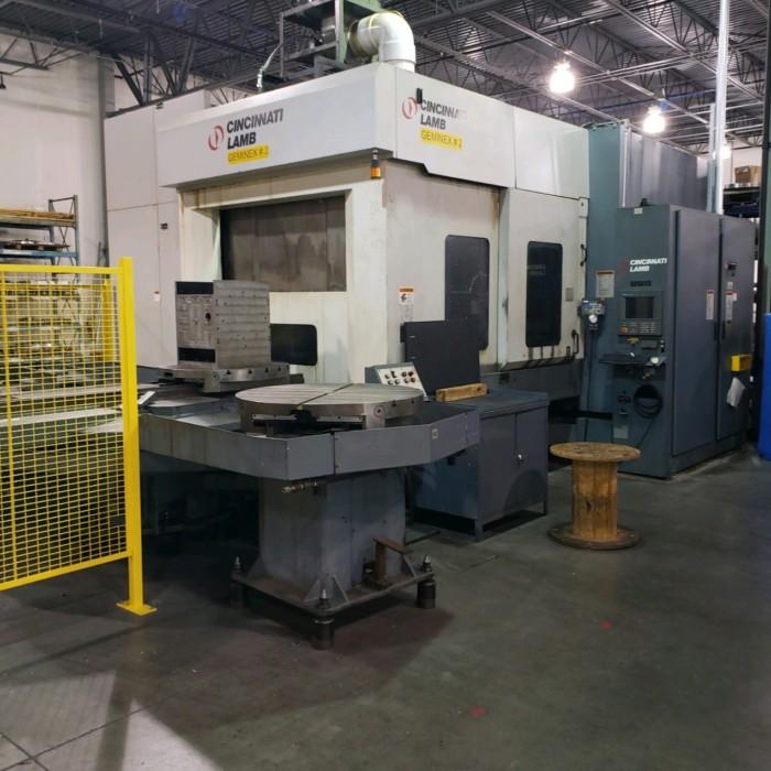 Cincinnati 5 Axis Mill/Turn Machining Center
