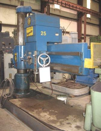 Giddings & Lewis Bickford Radial Arm Drill