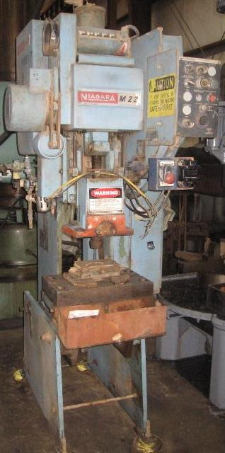 NIAGARA M22 20 TON OBI PRESS