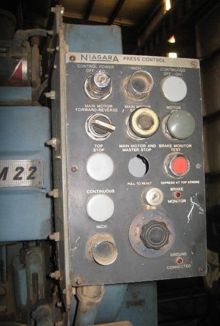 NIAGARA M22 20 TON OBI PRESS