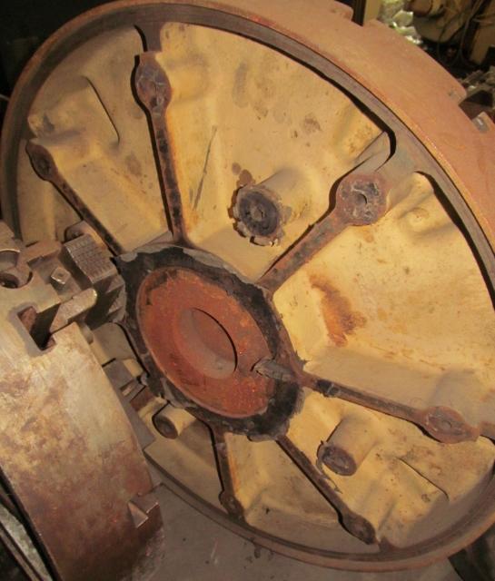 """42"""" Bullard Face Plate Type Chuck"""