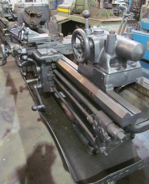 18-1/2 x 78 Axelson Engine Lathe
