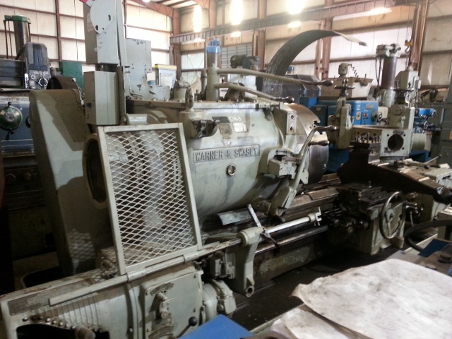 Warner & Swasey 4A Lever Head Saddle Type Turret Lathe