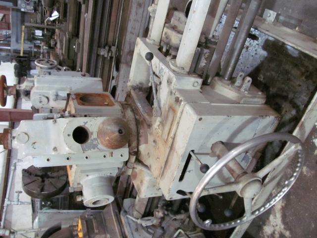 Warner & Swasey 4A Lever Head Saddle Type Turret Lathe