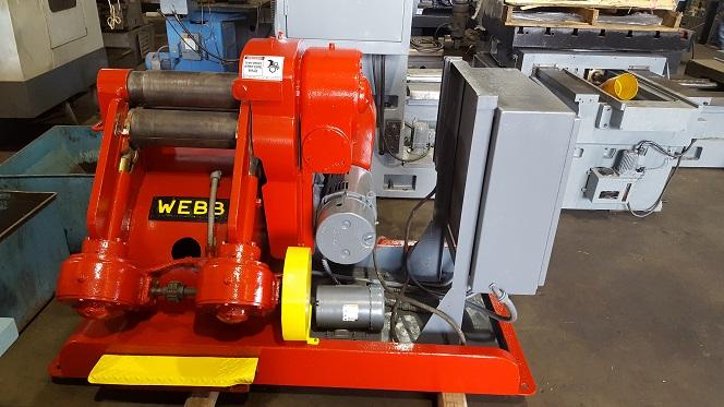 Webb Model 501 Plate Roll