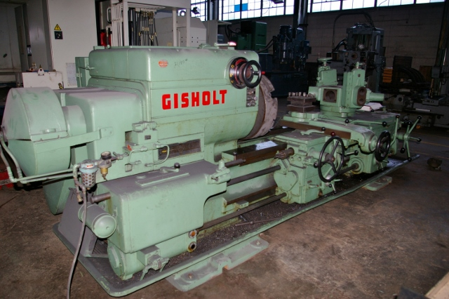 Gisholt 3L Heavy Duty Saddle Type Turret Lathe