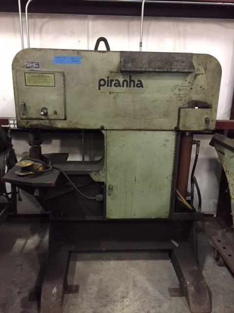 Piranha 120 Ton Single End Punch
