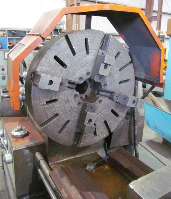 Poreba Model TRP93X2M 36 x 96 Gap Bed Lathe