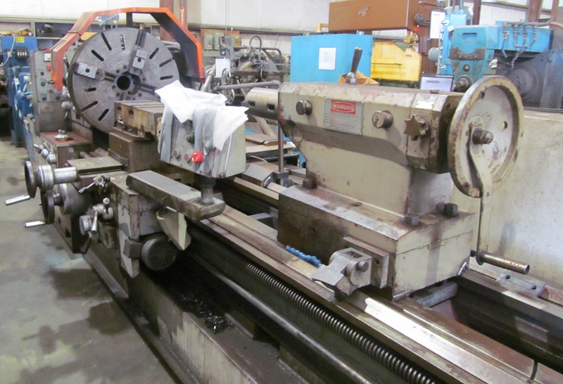Poreba Model TRP93X2M 36 x 96 Gap Bed Lathe
