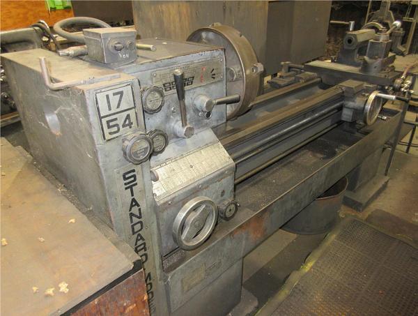 19 x 54 Standard Modern Engine Lathe